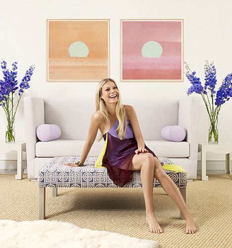 The New York Home of Gwyneth Paltrow