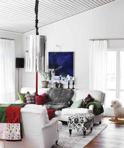 White Interior Design from Scandinavia