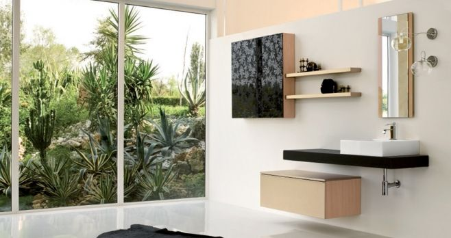 Modern bathroom design from Mastella Italy