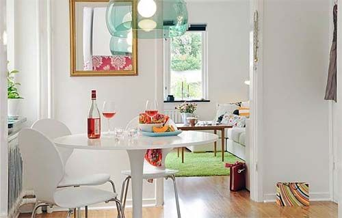 Sweedish Inspiration to 41.5 square meters
