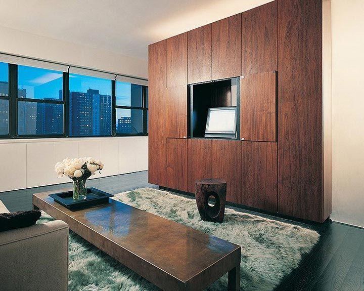 Interior Design for a Small Studio by MOA