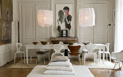 Cool French Apartment Designs by Hand Lyon
