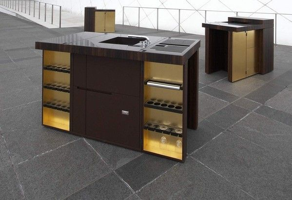 Dubai – Modern Mobile Kitchen from Unikat Interior