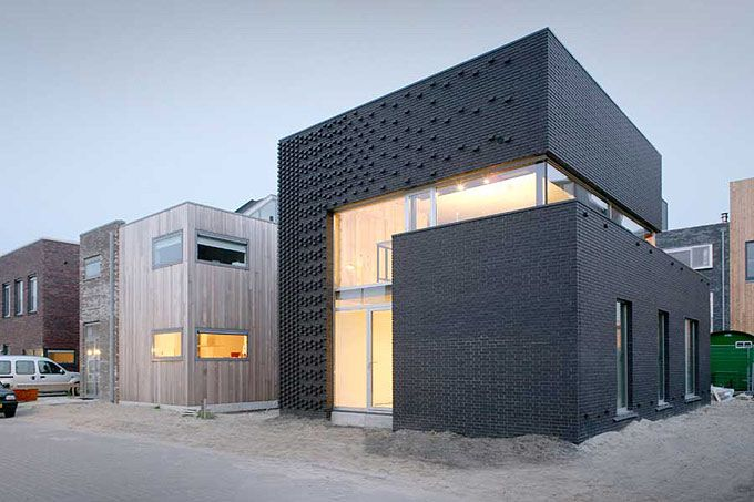 Ijburg – Beautiful Small House in Amsterdam by Marc Koehler