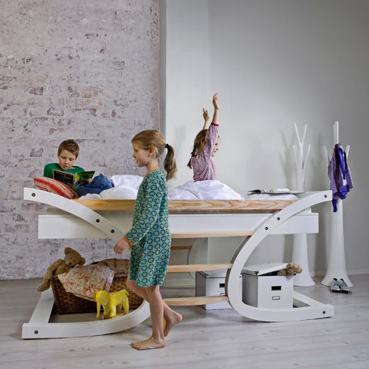 Contemporary Designer Beds for Children from Mimondo