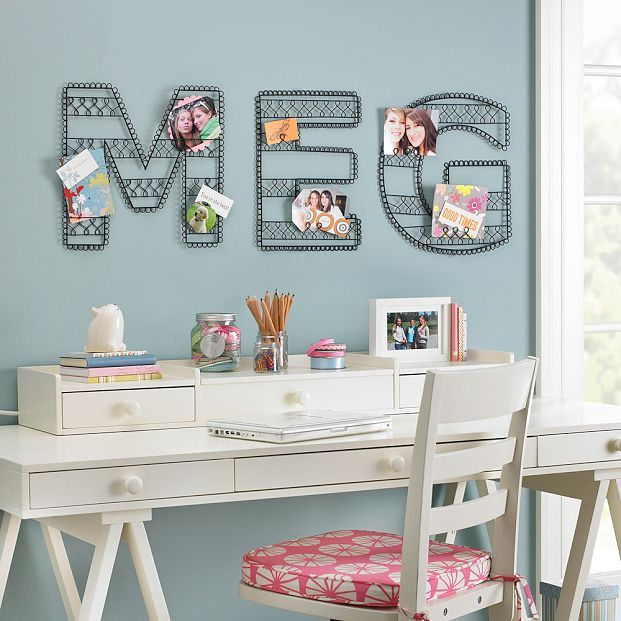 Wire Wall Letters from Pottery Barn