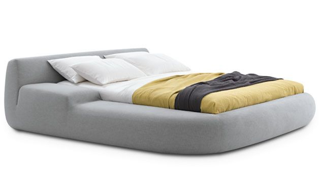 Bug – Asymmetrical Bed by Paola Navone and Poliform