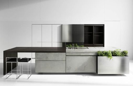 Unusual Concrete Kitchen by Martin Steininger