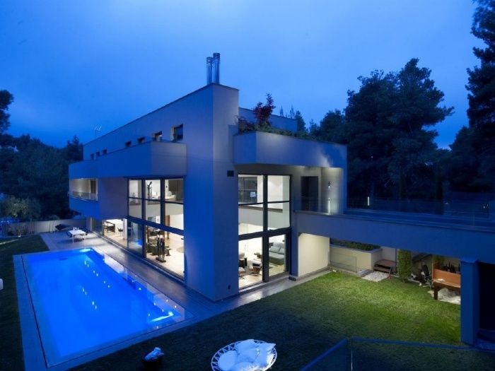 Luxury Greek House by Nikos Koukourakis