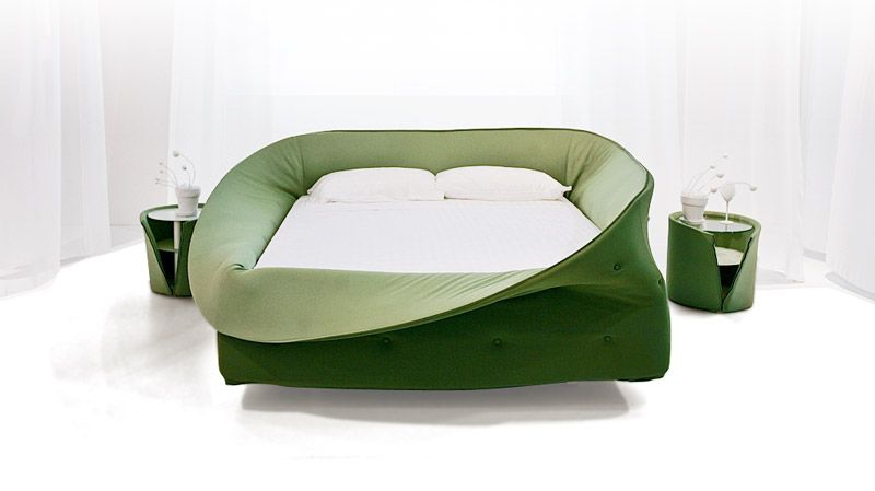 Col-Letto – Bed with a Flexible Edge by Lago
