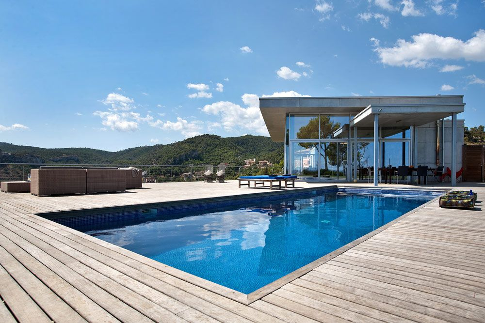 Contemporary Villa on a Hilltop in Mallorca, Spain
