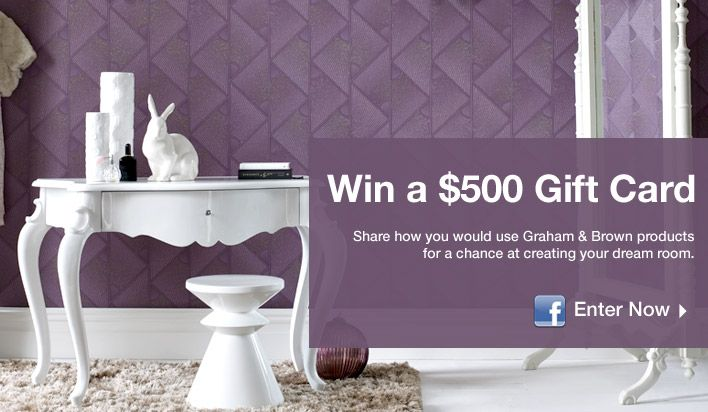Graham and Brown Summer Home Makeover Contest