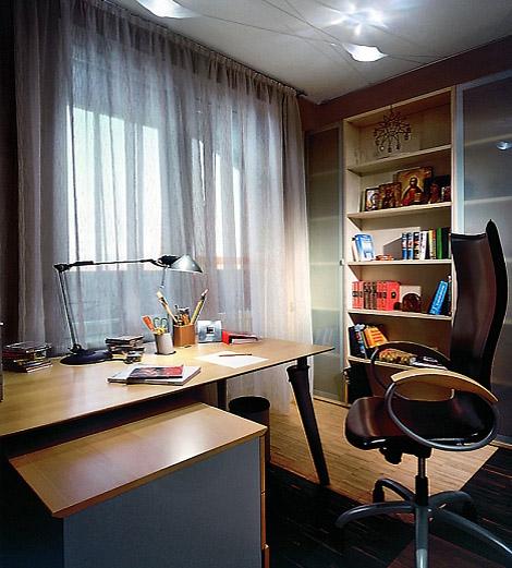 Apartment Interior in Dark Tones 7