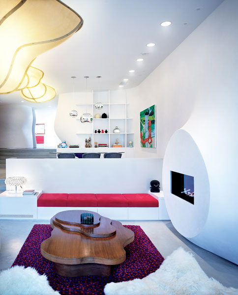 Bloom House - Modern Interior and Colorful Furniture