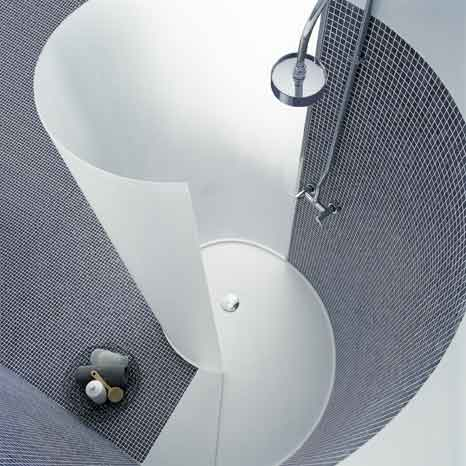 Chiocciola - Inspiring shower by Agape Italy