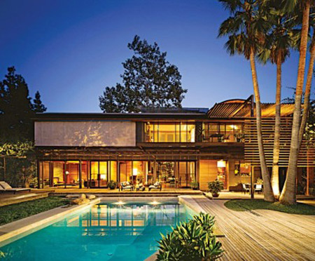 Demi Moore and Ashton Kutcher`s Home