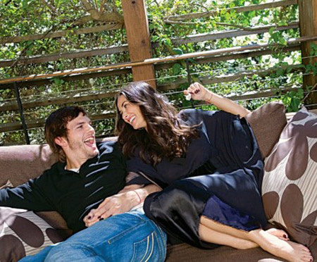 Demi Moore and Ashton Kutcher Home