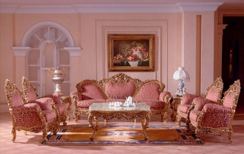 Gorgeous Rococo Furniture in French Style 2