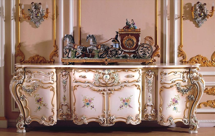 Gorgeous rococo furniture in french style best home news for French rococo period