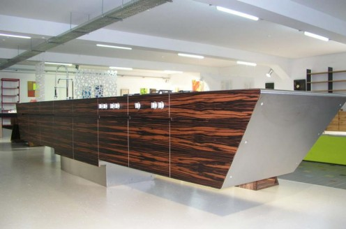 Kitchen Wood and Steel Design from Unikat 4