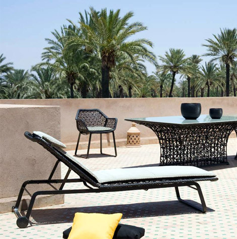 Maia collection for garden from Kettal Spain 3