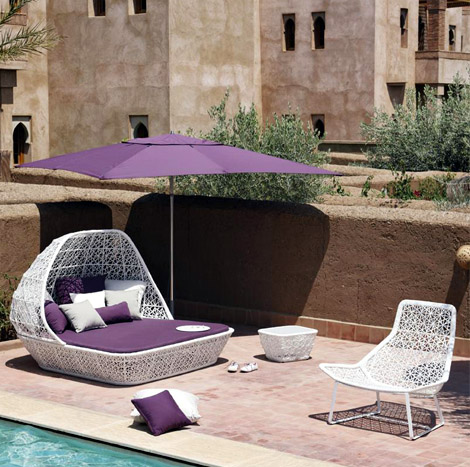 Maia collection for garden from Kettal Spain