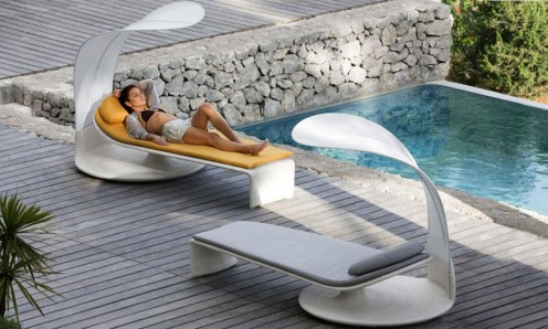 Summer Cloud - Curved Outdoor Lounger By Dedon 3