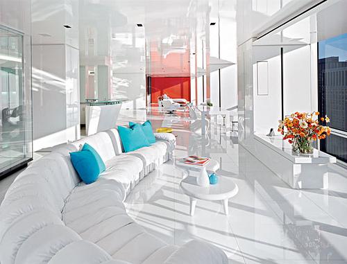 Прекрасен минималистичен апартамент в Манхатън