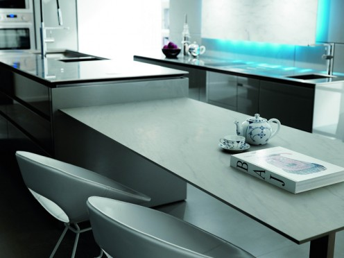 Futuristic kitchen design by Toncelli