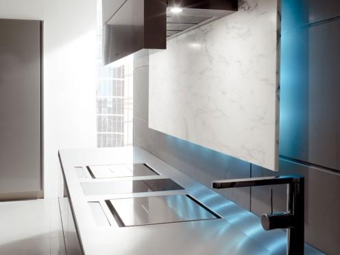 Futuristic kitchen design by Toncelli