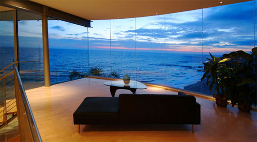 Beach House From Glass Stone And Steel By McClean Design Best Home
