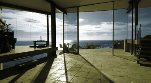Beach House from Glass, Stone and Steel by McClean Design 4