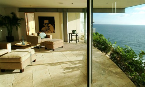 Beach House from Glass, Stone and Steel by McClean Design