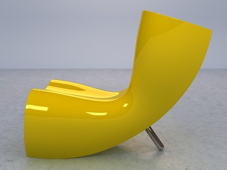 Contemporary Fiberglass Chair from Cappellini 2