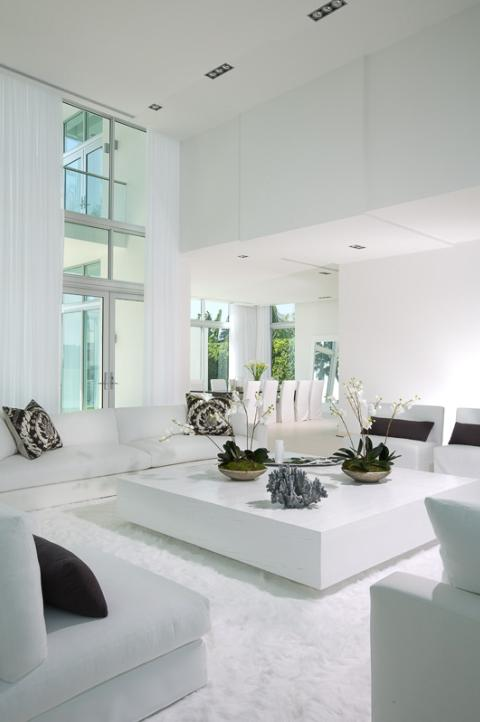 House in Miami - Interior Design in White 7