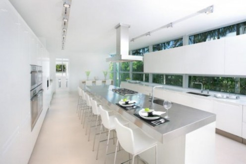 House in Miami - Interior Design in White 9