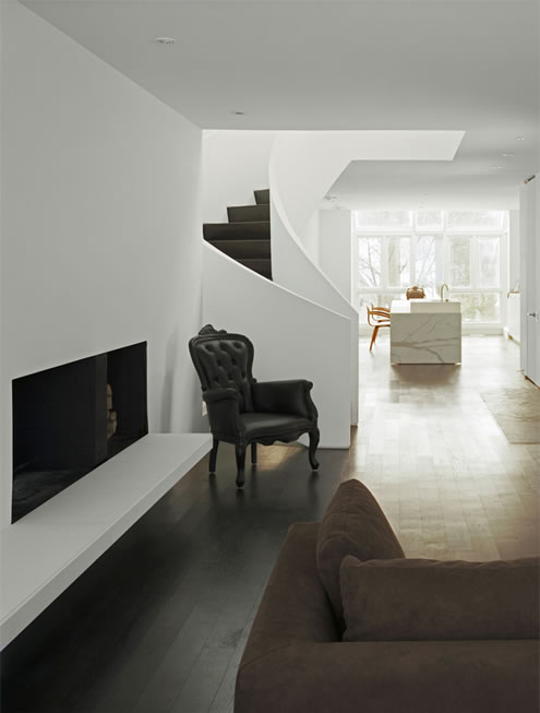 House in Toronto at Minimalist Style