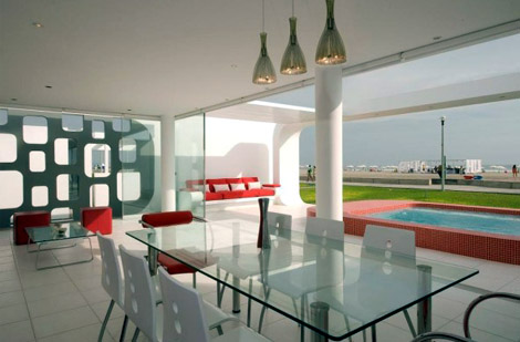 House on The Palabritas Beach by Jose Orrego 3