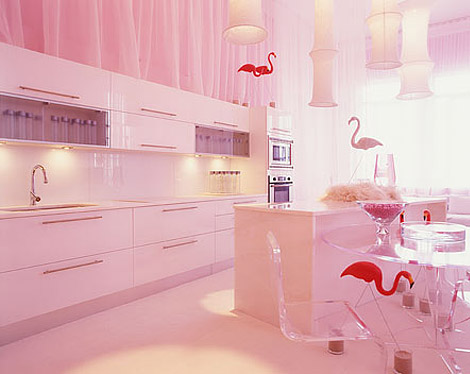 Pink Interior from BNOdesign