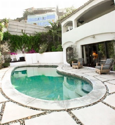 The Home of Molly Sims in Hollywood 9