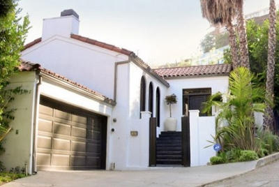 The Home of Molly Sims in Hollywood