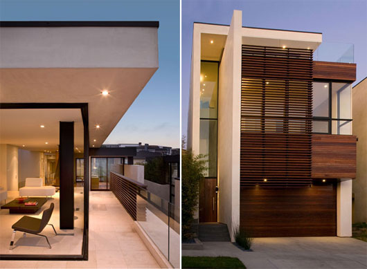 Minimalist house at manhattan beach best home news ll for Modern house design minimalist