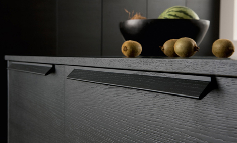 Modern Italian Kitchen in Black by Futura Cucine 6