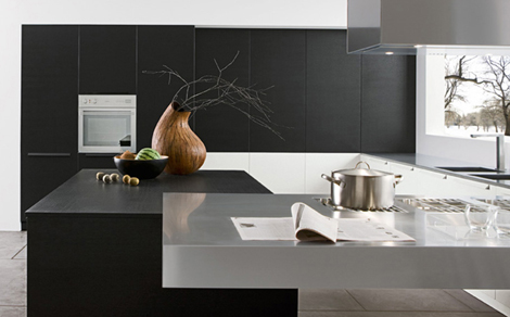Modern Italian Kitchen In Black By Futura Cucine Best