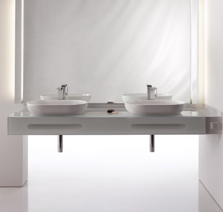 Glass Furniture for Bathroom Keuco