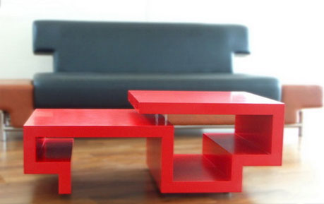 ZigZag Coffee Table by Tsai Design Studio