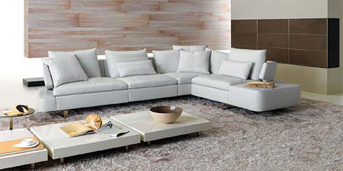 Best Modern Sofas for the Living Room in White
