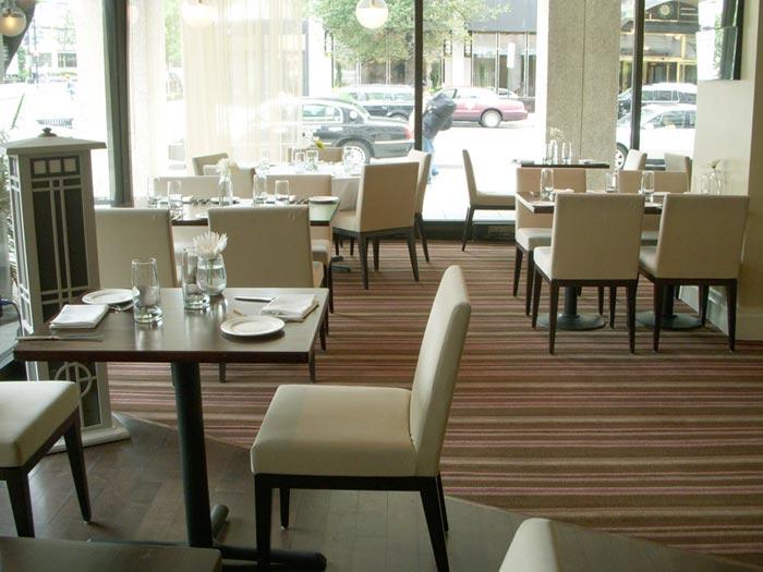 Hudson modern restaurant and lounge bar in washington dc