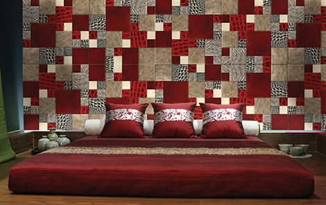 wall-decoration-with-leather-