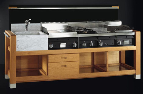 Capri italian modular kitchen by j corradi best home for Italian modular kitchen